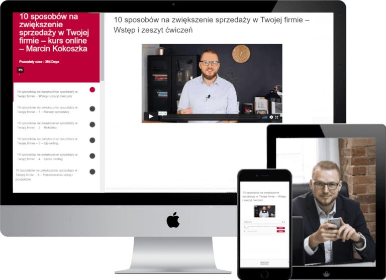 Kurs online Marcina Kokoszki